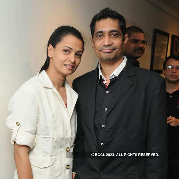 Actor Kamal Kamaraju's exhibtion