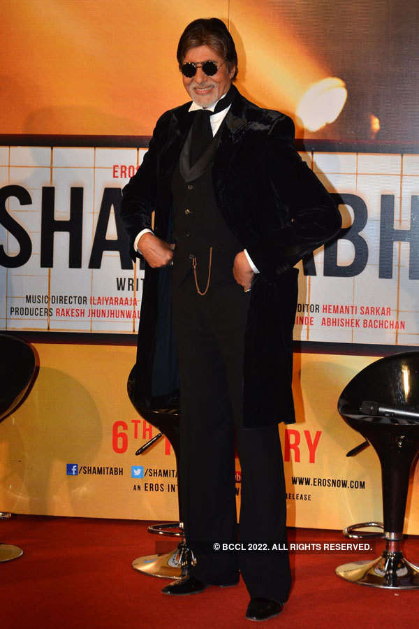 SHAMITABH: Trailer launch