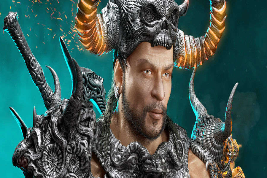 SRK as animated warrior in Atharva