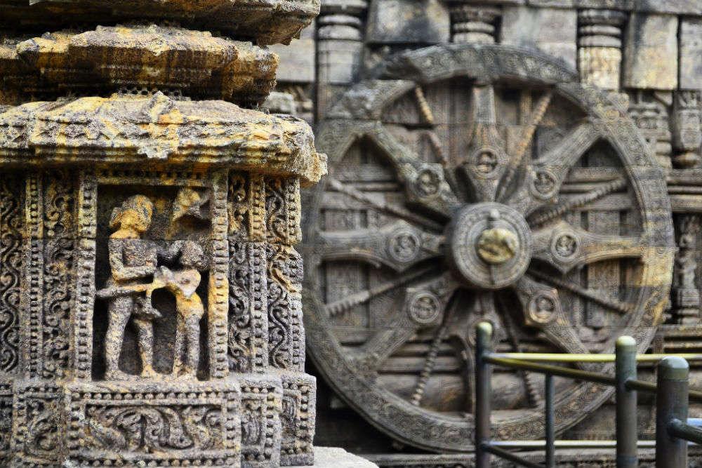 Konark Temple sculptures