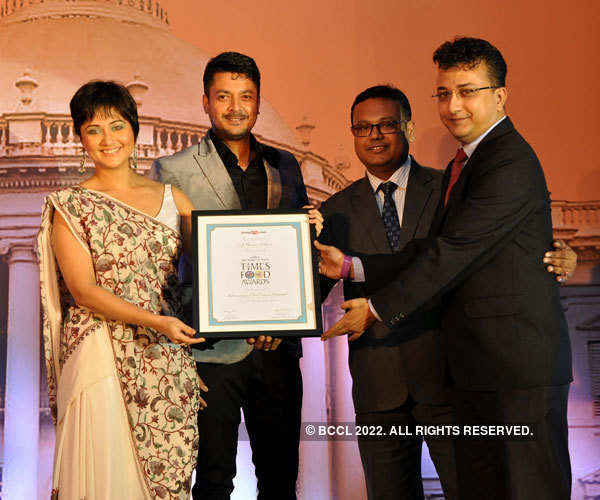 Times Food Guide Awards '15 - Kolkata: Winners