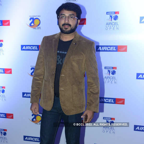Aircel's Chennai Open party