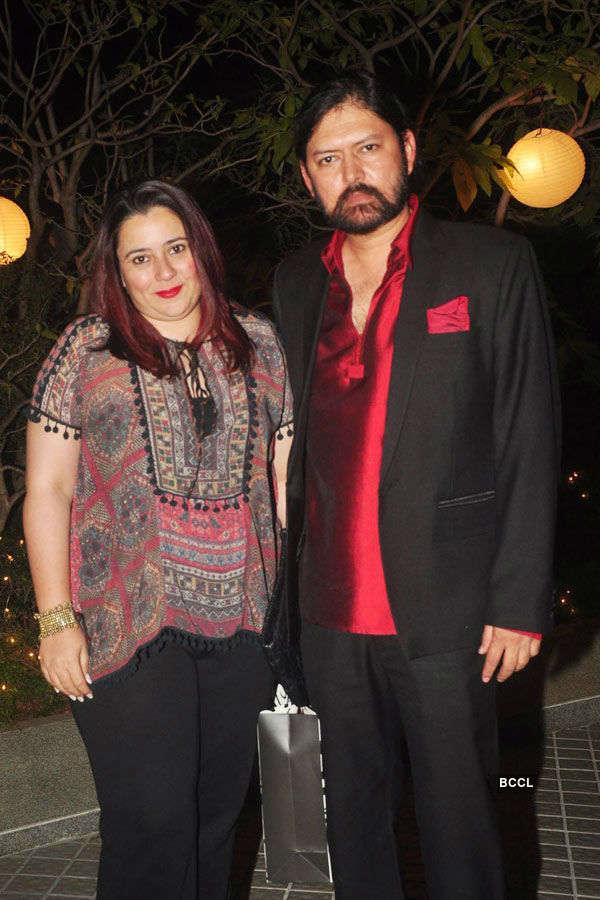 Farah Khan's b'day party