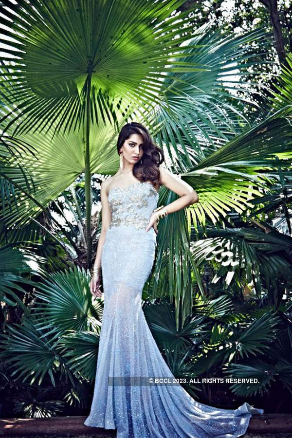 Miss India International 2014 Jhataleka poses for Femina