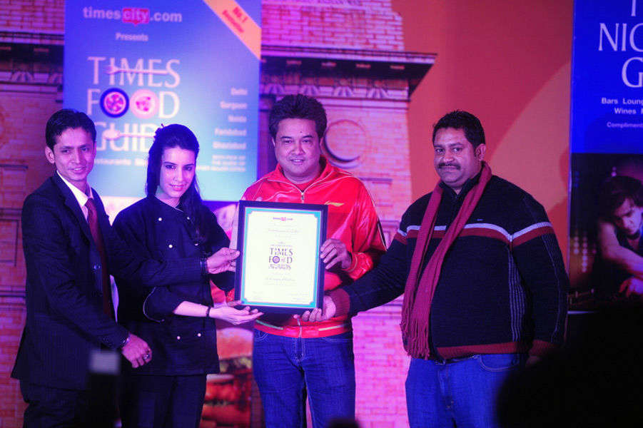 Times Food Guide Awards '15 - Winners : Delhi