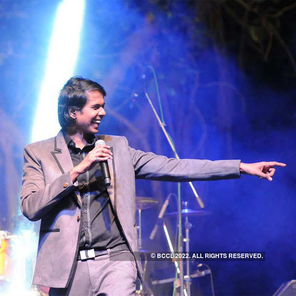 CV Anand at an event