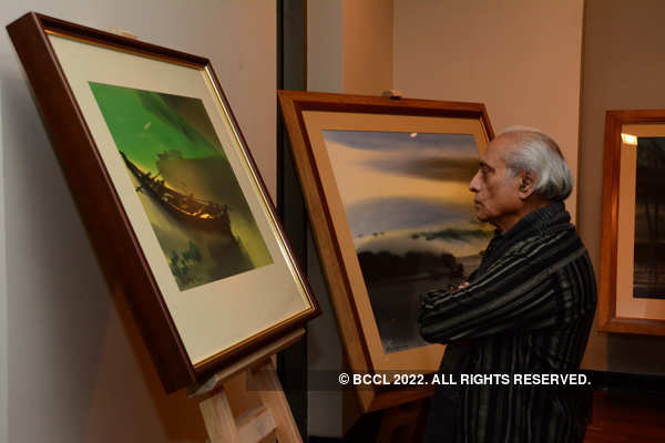 Paresh Maity's 70th solo show in Ahmedabad
