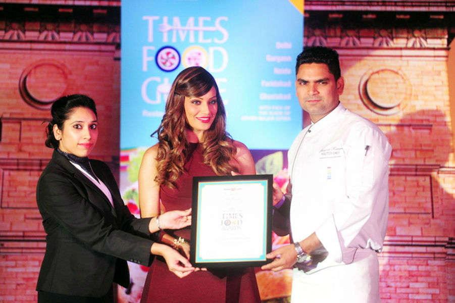 Times Food Guide Awards '15 - Winners : Delhi
