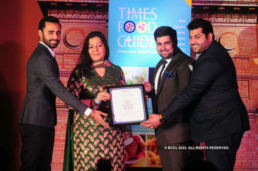Times Nightlife Awards '15 - Winners : Delhi