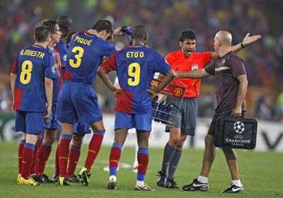 Barcelona beat Manchester