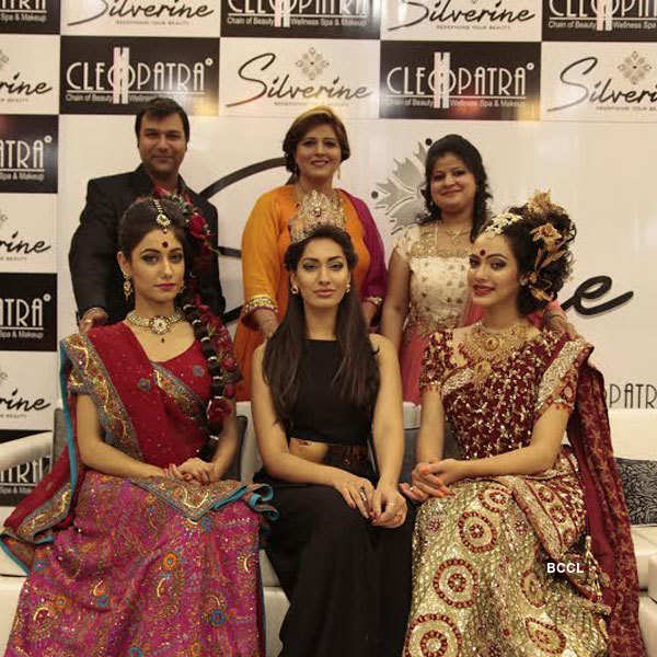 Miss India at Cleopatra's and Silverine event