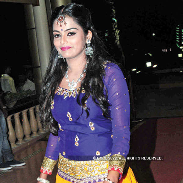 Celebs at a filmy event