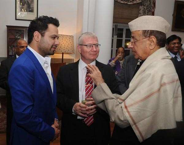 British deputy high commissioner's dinner party