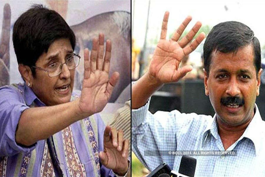 Ready to fight against Kejriwal: Kiran Bedi