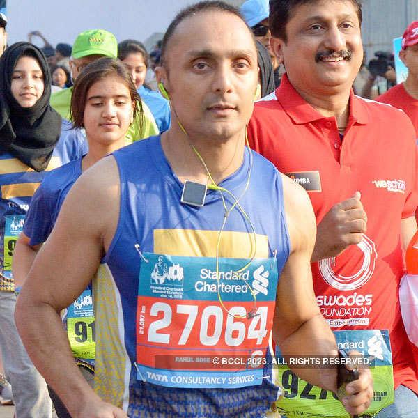 Celebs at Mumbai Marathon 2015