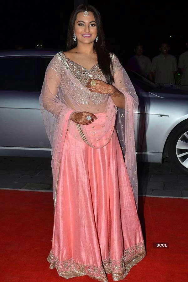 Kush Sinha's wedding reception