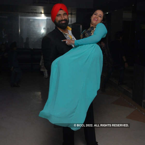 Surprise birthday bash for Poonam Bhamra