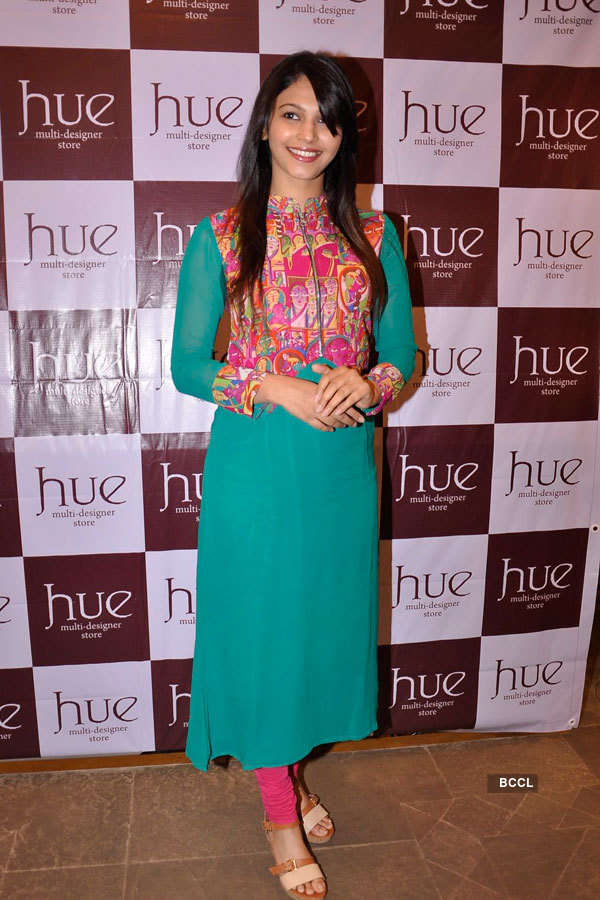 Celebs at Hue's collection preview