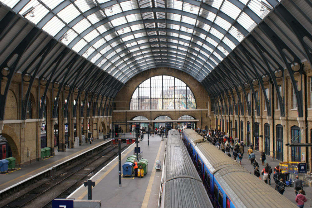 Platform 9 ¾ at Kings Cross Station - London: Get the Detail