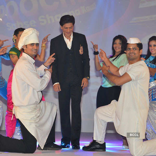 SRK at &TV channel launch