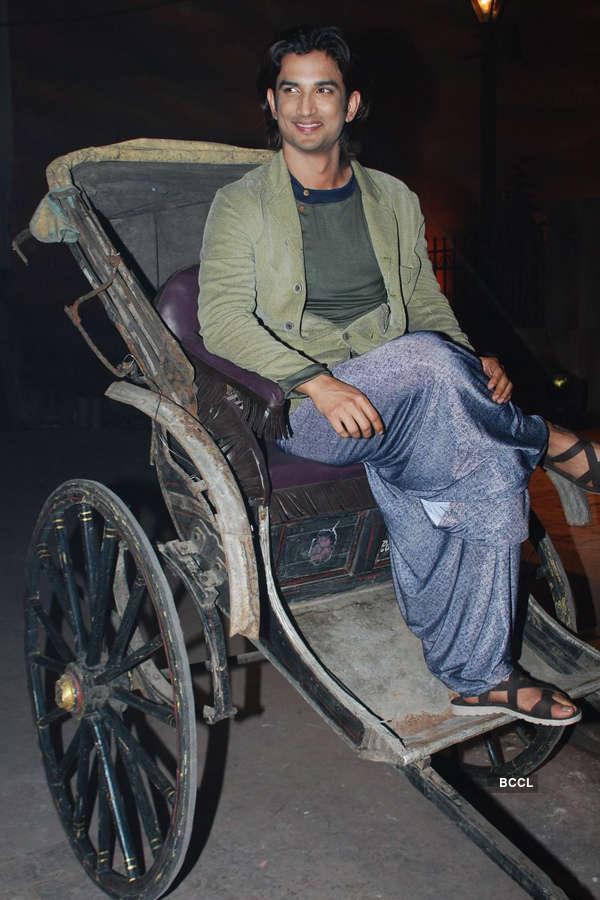 Sushant promotes Detective Byomkesh Bakshy