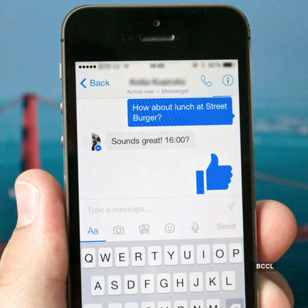 Now, read audio clips on Facebook messenger