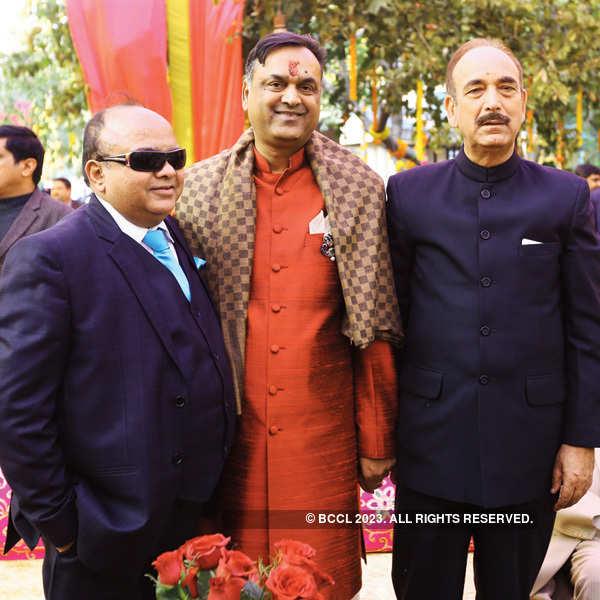 Shrey-Shaloo's bhaat & Godh-tikka ceremony