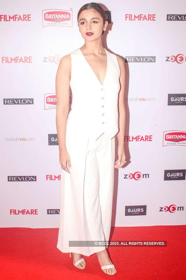 60th Britannia Filmfare pre-awards party: Red carpet