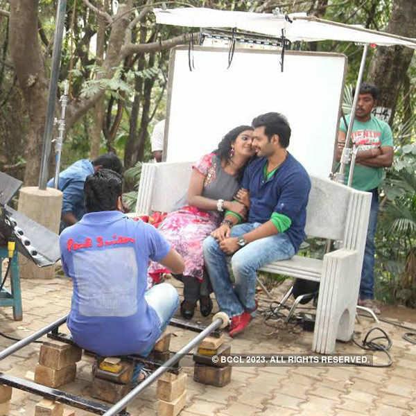Sumanth Shailendra Babu shoots for Cerry