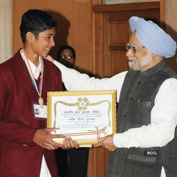 Kids who won National Bravery Awards