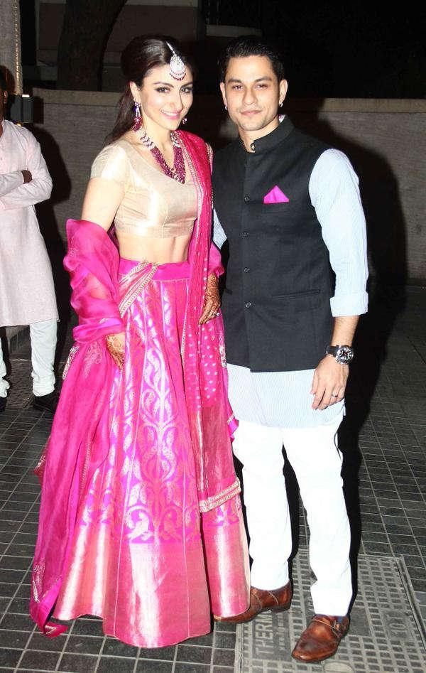 Soha Ali Khan Kunal Khemu S Wedding Reception