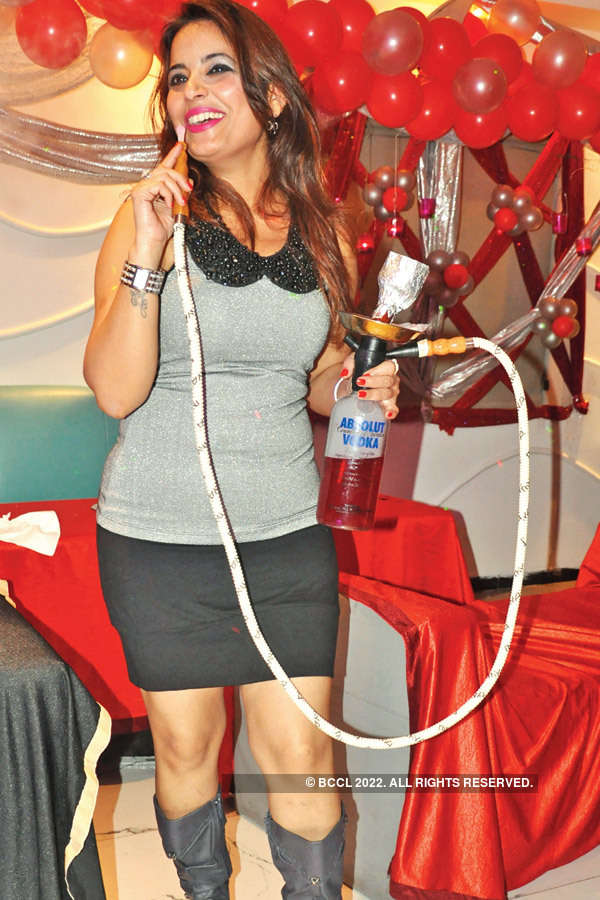 Komal Kapoor's birthday party