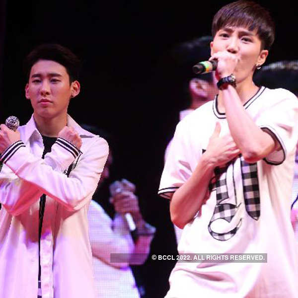 N-Sonic performs in the city