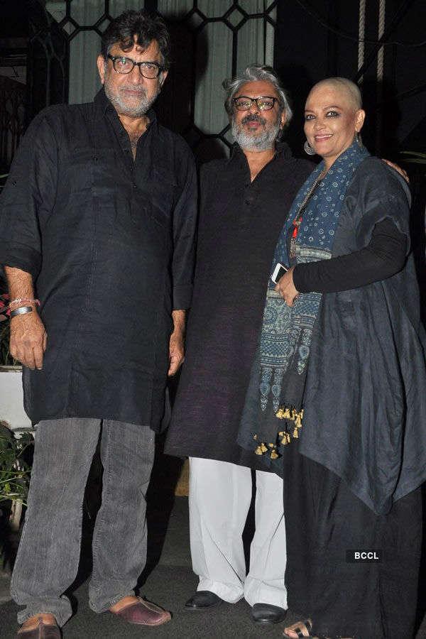 Bhansali's Padma Shri honour party