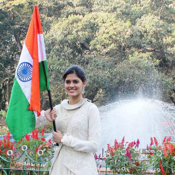 Miss Supranational Asha Bhat celebrates Republic Day