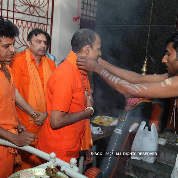 Rajkumar brothers get ready to go to Sabarimala