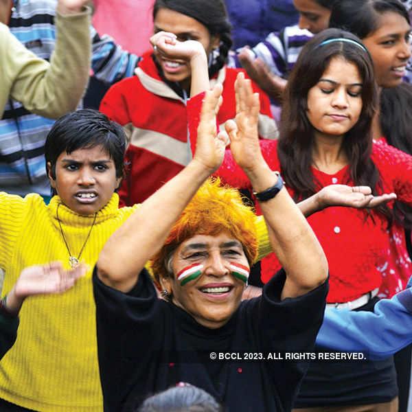 Patriotic spirit rules on Raahgiri Day