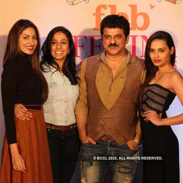 Gail and Jhataleka at the fbb Femina Miss India 2015 Pune auditions