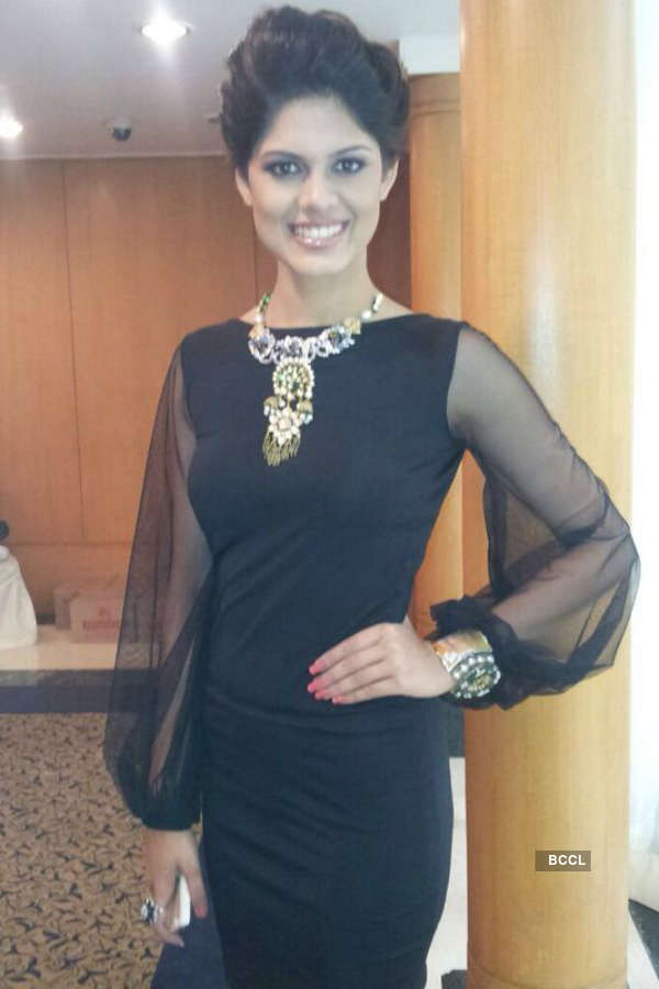 Asha Bhat walks the ramp to raise awareness about cancer
