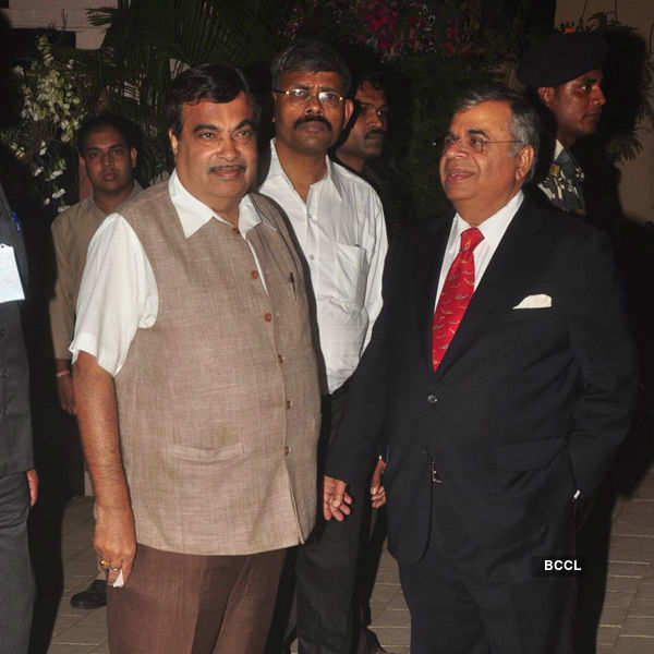 Sanjay Hinduja's pre-wedding party