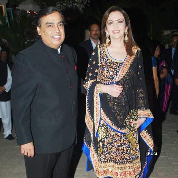 Sanjay Hinduja's pre-wedding party