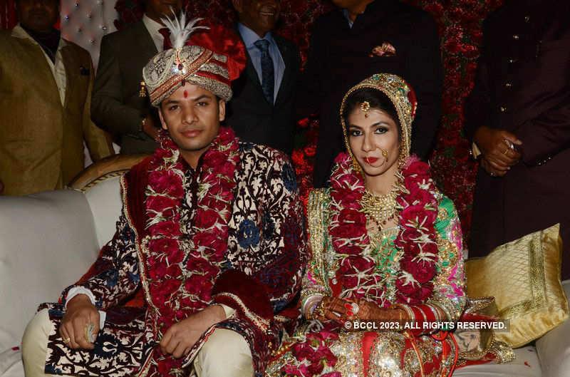 Lalita-Atin's wedding function