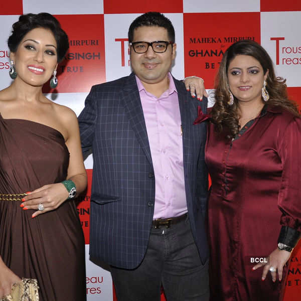 Celebs @ designer collection launch