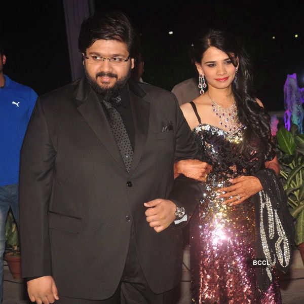 Rahul Thackeray & Aditi Redkar's reception