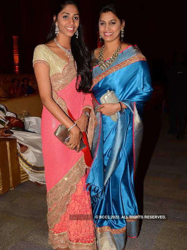 Vishnu and Moulika's wedding at HICC Novotel
