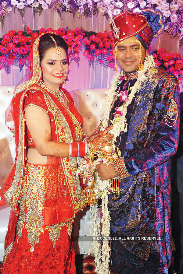 Amrita Dhawan and Bhushan Penchalwar tie the knot