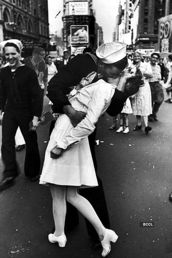 The most famous kisses of all time