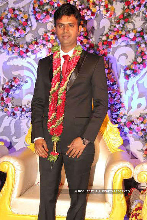 Syed Wahid and Afshan Jabeen's wedding reception