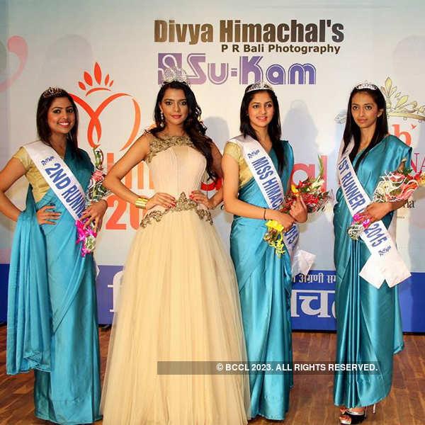 Ruhi Singh judges Miss Himachal 2015