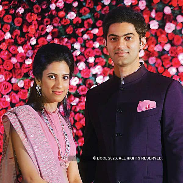 Rajiv & Kavya's wedding reception